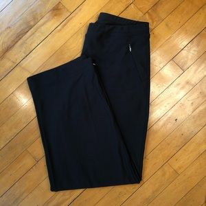 Lucy Black Short Pocket Athletic Pants